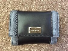 NWT Kate Spade Leather Regatta Court Darla Small Wallet Purse Black Key Chain