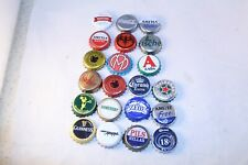 21 BEER BOTTLE CAPS AND SOFT DRINKS FROM GREECE RARE GREEK