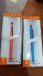 cross stylo encre gel stylus