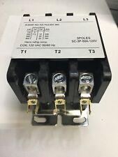 Definite Purpose Contactor 50 AMP 3 Poles 120 VAC 50A 50/60 Hz 3P Heat Pump, A/C