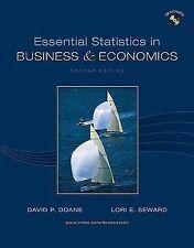 Essential Statistics in Business and Economics by David P. Doane and Lori E....