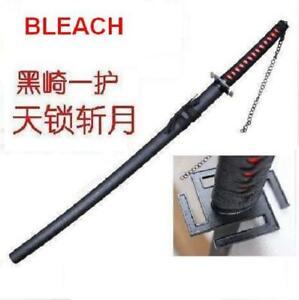 """S2605 BLEACH ICHIGO KUROSAKI TENSA ZANGETSU ZANPAKUTO SWORD CURVED BLADE 41"""""""