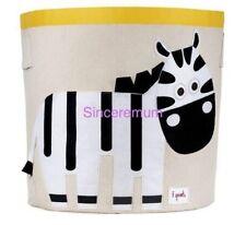 NEW  Baby Kid Animal Toy Storage Cube Shelf  Nursery Decor- Zebra