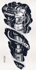 Einmal Tattoo Fake Tattoo Mechanical 20x9cm Temporary Tattoo (A1222)