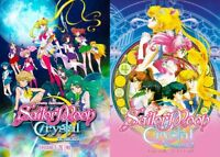DVD Sailormoon CRYSTAL Season 1+2+3 (FULL) Sailor Moon Anime Boxset ENGLISH Dub