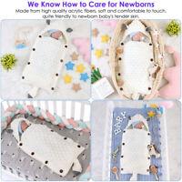 Infant Baby Swaddle Newborn Kids Sleeping Bag Soft Warm Blanket Stroller Wrap
