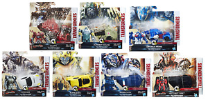 Transformers Last Knight Figures - 1 Step Changers - Hasbro - Brand New - Sealed