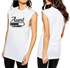 AUNT LOADING T-SHIRT, CUT SLEEVE or LADIES TANK