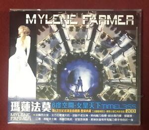 Mylene Farmer Timeless Taiwan 2-CD w/OBI (Made in Taiwan ,2019 reissue ver.)