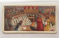 Trial Of Seven Bishops Wills Cigarettes 1912 Historic Events Trading Card (B6)