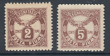 Fiume Sc J13-J14 Mnh. 1919 Postage dues, complete set of 2