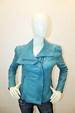 Giubbino GUESS Donna Jacket Coat Pelle d'agnello Real Leather Taglia Size L
