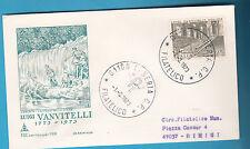 ITALIA BUSTA VIAGGIATA CAPITOLIUM  1973 VANVITELLI  ANNULLO SPECIALE CASERTA FDC