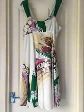 Ladies summer dress by Full Circle  size 12 cotton with cotton lining