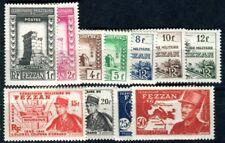 FEZZAN 1949 Yvert 43-53 * SATZ TADELLOS 50€(F3627
