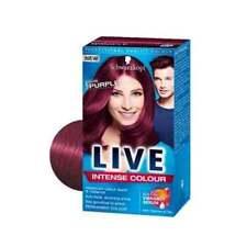 3 x Schwarzkopf Live Intense Color 086 Pure Purple