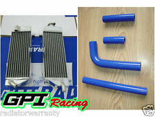 Aluminum Radiator and hose for YAMAHA YZ400F YZF400 YZ 400 F 1998 1999 2000 98