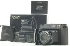 [Top Mint in Box,Hood] Fujifilm Fuji GF670 Pro Black Camera from Japan 2176