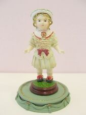 ANTIQUE FRENCH BRU BISQUE DOLL MINIATURE FIGURE #2 NEW RARE IMPORT