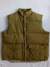 Woolrich gilet - Piumino d oca - colore Sabbia - size xxl - Perfetto