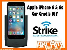 STRIKE ALPHA APPLE IPHONE 6 & 6s CAR CRADLE DIY - IN-BUILT FAST CHARGER PROTECT