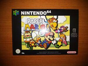 Paper Mario 64 PAL -   Nintendo 64 - N64 - Retro