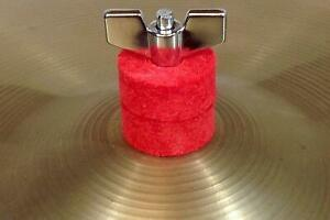 RockSolid Red Cymbal Felts for Cymbal Stands - 8 Pack or 12 Pack