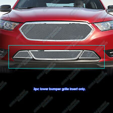 Fits 2013-2018 Ford Taurus SHO Stainless Steel Bumper Mesh Grille Insert