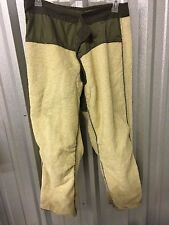 US MILITARY VINTAGE FIELD PANTS M51 COLD WEATHER TROUSER LINER MEN'S M LONG RARE