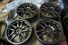 "JDM 16"" Work Emotion CR Kai wheels rims 5X100 gc8 st205 caldina sti impreza"