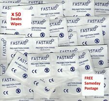 FastAid 5885 Pre Injection Swabs - 100 Count