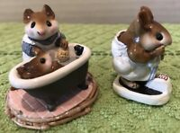 Wee Forest Folk, Mom And Squeaky Clean, Just Checking, Mice, Mouse, Scale