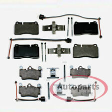 VW Touareg - Pastillas Freno con Accesorios Kit Cable de Advertencia para