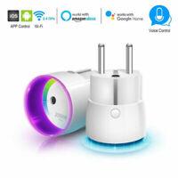WIFI Stecker Smart Power Fernbedienung Schaltsteckdose soutien für Alexa/Google/