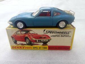 DINKY TOYS OPEL GT 1900 REF 1421