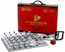 Hansol 30 Cups  Professional Cupping Therapy Equipment Set with pumping handl