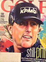 Golf Magazine Phil Mickelson Slope School August 2018 120818nonrh