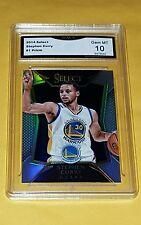 Stephen Curry 2014-15 Select #1 Prizm Refractor GMA GEM MINT 10 $$ NBA CHAMPION