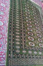 Large Bokhara vintage Persiian Turkish oriental Afghan style wool Rug Carpet
