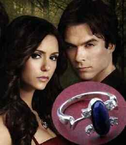 The Vampire Diaries Très belle bague   BAGUE ELENA BLEUE