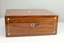 Walnut Antique display and presentation box for wooden wand like Harry Potter's