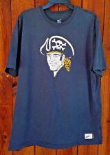 Pittsburgh Pirates 70's Bucs Logo Baseball Nike Cooperstown T-shirt Size XL