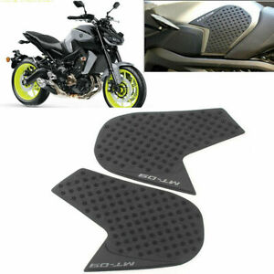 Tank Pads for YAMAHA MT-09 FZ-09 Protector Sticker Gas Knee Grip Traction Side