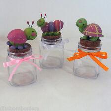 Offerta stock Bomboniere barattoli animali rosa battesimo nascita compleanno