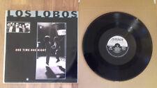 "Los Lobos - One Time One Night 12"" vinyl single"