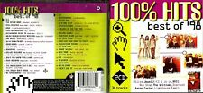 100% Hits Best Of 98 2cd set - 38 songs Placebo,Aqua,Cruel Sea,Powderfinger +