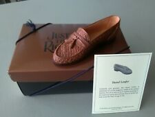 """Just The Right Shoe - """"Tassel Loafer""""- With Coa & Box - Free Shipping"""