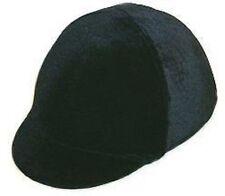 Sleazy Safety Troxel Riding Helmet Cover Black Velvet Show English Hunt Seat