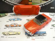 1960s Foreign Faller Mercedes 230SL Slot Car Body Rd/Bk