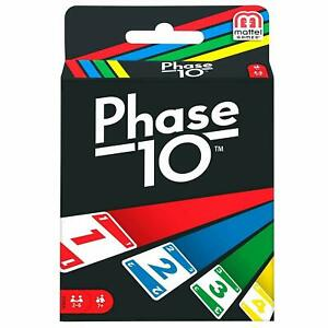 Mattel Phase 10 Card Game,Multi Color For Kids & Family - Colour May Vary